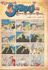 Cover Thumbnail for Le Journal de Spirou (Dupuis, 1938 series) #426