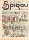 Cover for Le Journal de Spirou (Dupuis, 1938 series) #3/1940