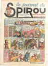 Cover for Le Journal de Spirou (Dupuis, 1938 series) #7/1940