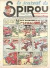 Cover for Le Journal de Spirou (Dupuis, 1938 series) #8/1940