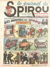 Cover for Le Journal de Spirou (Dupuis, 1938 series) #15/1940