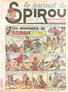 Cover for Le Journal de Spirou (Dupuis, 1938 series) #17/1940