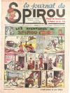 Cover for Le Journal de Spirou (Dupuis, 1938 series) #35/1940