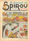 Cover for Le Journal de Spirou (Dupuis, 1938 series) #42/1940