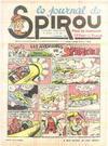 Cover for Le Journal de Spirou (Dupuis, 1938 series) #49/1940