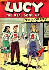 Cover for Lucy [Lucy the Real Gone Gal] (St. John, 1953 series) #4