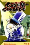Cover for Case Closed (Viz, 2004 series) #8