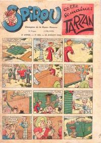 Cover Thumbnail for Le Journal de Spirou (Dupuis, 1938 series) #432