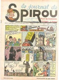 Cover Thumbnail for Le Journal de Spirou (Dupuis, 1938 series) #2/1940