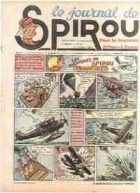 Cover Thumbnail for Le Journal de Spirou (Dupuis, 1938 series) #5/1940
