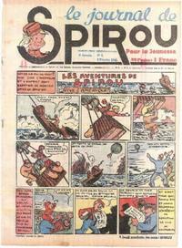 Cover Thumbnail for Le Journal de Spirou (Dupuis, 1938 series) #6/1940