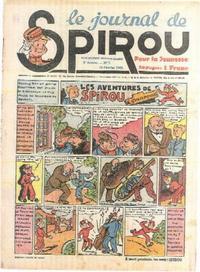 Cover Thumbnail for Le Journal de Spirou (Dupuis, 1938 series) #7/1940