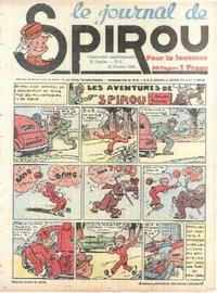 Cover Thumbnail for Le Journal de Spirou (Dupuis, 1938 series) #8/1940