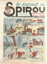 Cover Thumbnail for Le Journal de Spirou (Dupuis, 1938 series) #10/1940