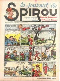 Cover Thumbnail for Le Journal de Spirou (Dupuis, 1938 series) #12/1940