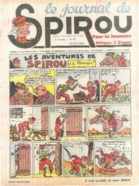 Cover Thumbnail for Le Journal de Spirou (Dupuis, 1938 series) #16/1940