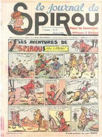 Cover Thumbnail for Le Journal de Spirou (Dupuis, 1938 series) #17/1940