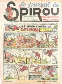 Cover Thumbnail for Le Journal de Spirou (Dupuis, 1938 series) #18/1940