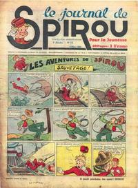 Cover Thumbnail for Le Journal de Spirou (Dupuis, 1938 series) #19/1940