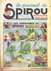 Cover Thumbnail for Le Journal de Spirou (Dupuis, 1938 series) #34/1940