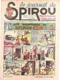 Cover Thumbnail for Le Journal de Spirou (Dupuis, 1938 series) #35/1940