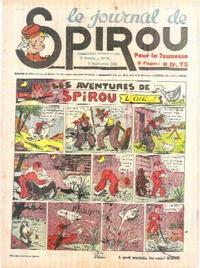 Cover Thumbnail for Le Journal de Spirou (Dupuis, 1938 series) #36/1940