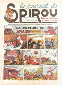 Cover Thumbnail for Le Journal de Spirou (Dupuis, 1938 series) #39/1940