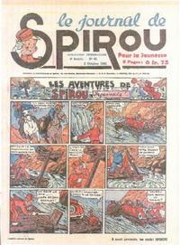 Cover Thumbnail for Le Journal de Spirou (Dupuis, 1938 series) #40/1940