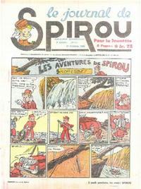 Cover Thumbnail for Le Journal de Spirou (Dupuis, 1938 series) #41/1940