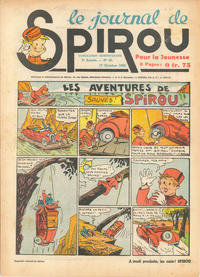 Cover Thumbnail for Le Journal de Spirou (Dupuis, 1938 series) #42/1940