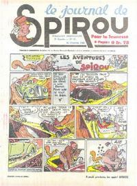 Cover Thumbnail for Le Journal de Spirou (Dupuis, 1938 series) #43/1940