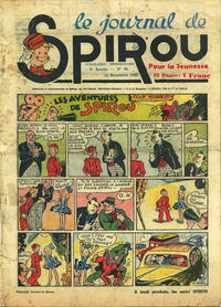 Cover Thumbnail for Le Journal de Spirou (Dupuis, 1938 series) #46/1940