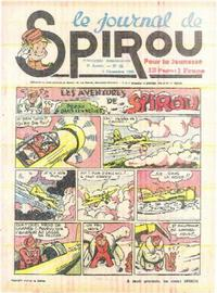 Cover Thumbnail for Le Journal de Spirou (Dupuis, 1938 series) #49/1940