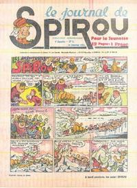 Cover Thumbnail for Le Journal de Spirou (Dupuis, 1938 series) #3/1941