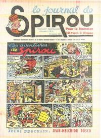 Cover Thumbnail for Le Journal de Spirou (Dupuis, 1938 series) #5/1941