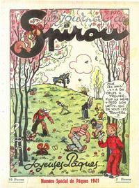 Cover Thumbnail for Le Journal de Spirou (Dupuis, 1938 series) #15/1941