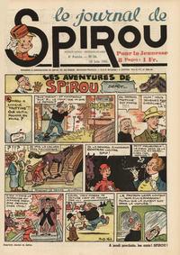 Cover Thumbnail for Le Journal de Spirou (Dupuis, 1938 series) #24/1941