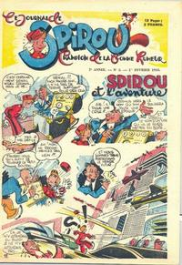 Cover Thumbnail for Le Journal de Spirou (Dupuis, 1938 series) #5/1945