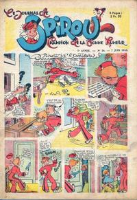 Cover Thumbnail for Le Journal de Spirou (Dupuis, 1938 series) #16/1945