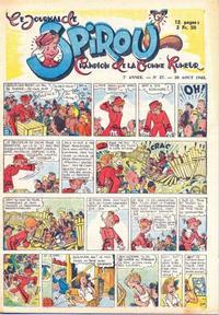 Cover Thumbnail for Le Journal de Spirou (Dupuis, 1938 series) #27/1945