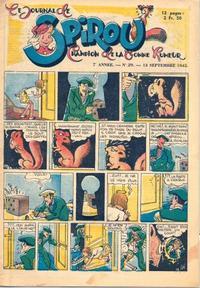 Cover Thumbnail for Le Journal de Spirou (Dupuis, 1938 series) #29/1945