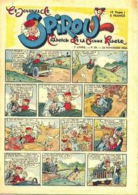 Cover Thumbnail for Le Journal de Spirou (Dupuis, 1938 series) #39/1945