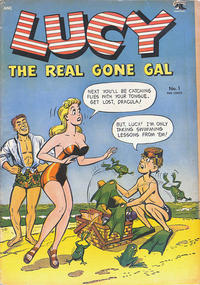 Cover Thumbnail for Lucy (St. John, 1953 series) #1