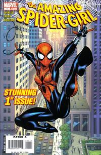 Cover Thumbnail for Amazing Spider-Girl (Marvel, 2006 series) #1 [Ron Frenz cover]