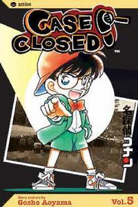 Cover Thumbnail for Case Closed (Viz, 2004 series) #5