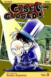 Cover Thumbnail for Case Closed (Viz, 2004 series) #8