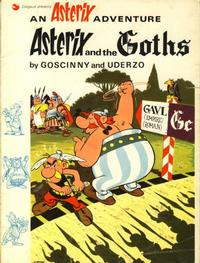 Cover Thumbnail for Asterix (Hodder & Stoughton, 1969 series) #5 - Asterix and the Goths