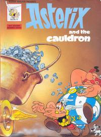 Cover Thumbnail for Asterix (Hodder & Stoughton, 1969 series) #17 - Asterix and the Cauldron