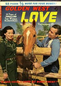 Cover Thumbnail for Golden West Love (Kirby Publishing Co., 1949 series) #3