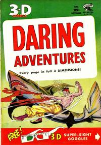 Cover for Daring Adventures 3-D (St. John, 1953 series) #1
